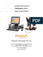 Work Instrucions for Pro Metal 3.3.1