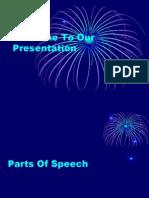 presentation of parts of speech