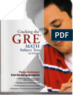 Cracking the GRE Math Test 3e
