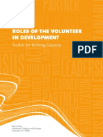 Peace Corps ROLES OF THE VOLUNTEERIN DEVELOPMENT
