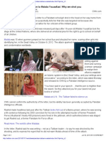 Purported Letter From Taliban to Malala Yousafzai Why We Shot
