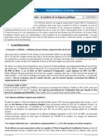Fiche Rapport Cour Des Comptes