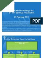 (v11) NM Q4 2011 Earnings Presentation