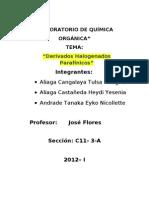LABORATORIO DE QUÍMICA orgánca