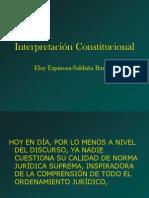 20090715-Interpretacion Constitucional 1 Eloy Espinosa-Saldana