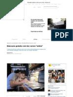 Educação gratuita com dez cursos online - Expresso