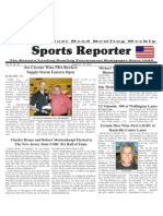 August 21 - 27, 2013 Sports Reporter