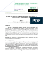 Feasibility Study on Stereolithography Apparatus _sla_ and Selective Laser Sinter