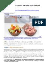 Nutrigenomica Genele Hotarasc Ce Trebure Sa Mancam