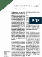 Candidacidal Activity of Crohn's Disease Neutrophils