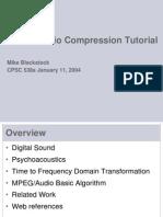 MPEG Audio Tutorial