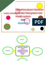 faktor mempengaruhi tindakan guru dalam p&p