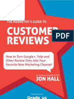 Marketers Guide to Customer Reviews