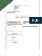 Lee, POW v Nesfield,  Belland- Garbus Status Report to J Wilson  April, 2009 Belland Status Report