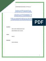 Inductancia, Inductores y Transformadores