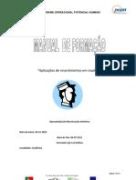 Manual Aplicação de Revestimentos em Madeira