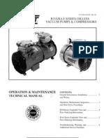 Gast ROA RAA Series Oilless Vacuum Pump