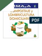 Cartilla de Compostaje y Lombricultura Domiciliarios