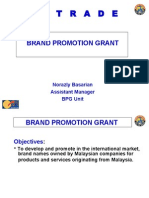 Brand Promotion Grant