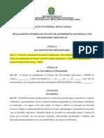 COMPILADO SUGESTÕES REGIMENTO INTERNO