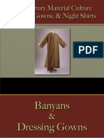 Clothing - Male - Banyans, Gowns & Night Shirts