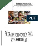 1)PROGRAMA DE EDUCACIÓN FÍSICA NIVEL  PREESCOLAR