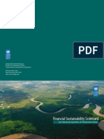 Financial Sustainability Scorecard for Protected Areas