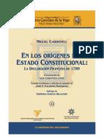 Los Origenes Del Estado Constitucional - Miguel Carbonel