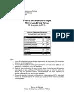Informe Estadistico Colecta Finis Terrae