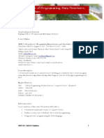 MSIT 501 - Fall 2013 Syllabus