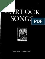 Peter Warlock - Songs