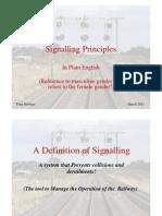 Signalling Principles