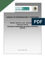 Manual de Organizacion y Funciones - SOFOM Mar 2010