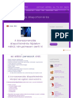 Biorezonanciameres Hu Allapotfelmeres