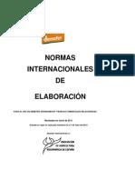 Normas internacionales de elaboración para uso de DEMETER, BIODINÁMICA  y otras marcas comerciales