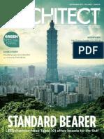 Architect Sep 11 Volume 5