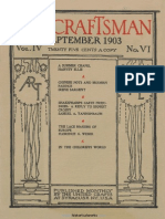 The Craftsman - 1903 - 09 - September