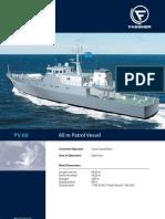 SB 38 PV 60 Patrol Vessel