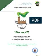 IV Concurso de Proyectos de Investigacion Copip Unp 2013 (1)
