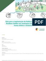 Guia Implantação da Política Nacional de RS nos Municípios Brasileiros