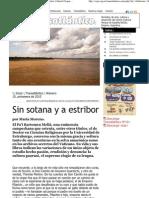 Entrevista a Bartolomeu Meliá por María Moreno