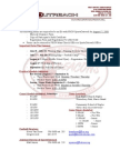 Tackle Football Information Letter