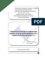 PP - Corrección del Factor de Potencia y Propuesta de un Plan de Ahorro Energetico