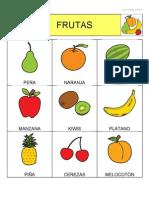 Bingo de Frutas