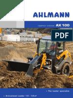 Mecalac Ahlmann Ax 100