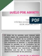Duelo Por Aborto