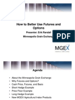 MGEX Using Futures and Options Only]