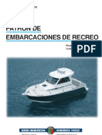 Patron Embarcacion Recreo