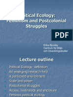 Political Ecology Feminism and Postcolonial Struggles