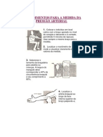 PROCEDIMENTOS PARA A MEDIDA DA PRESSÃO ARTERIAL.docx